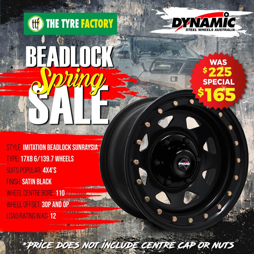 Beadlock Spring Sale on specific Dynamic wheels
