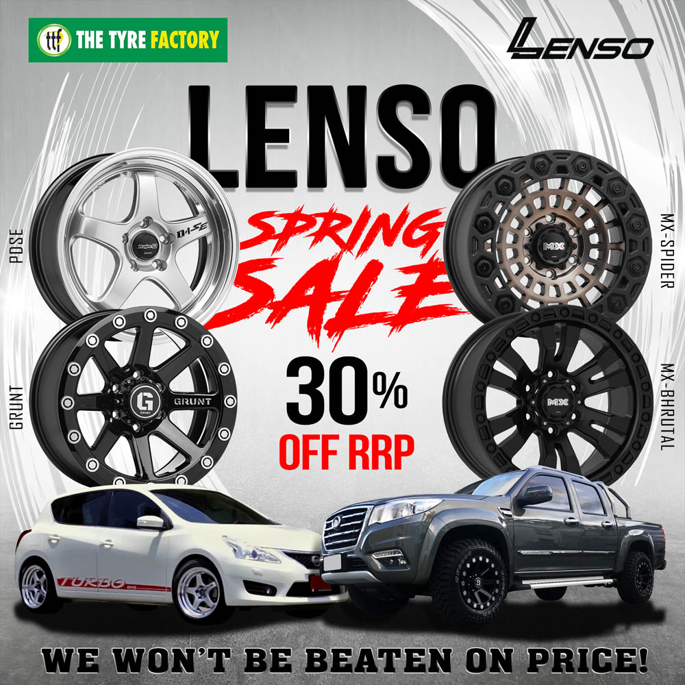 Lenso Spring Sale 30% off RRP