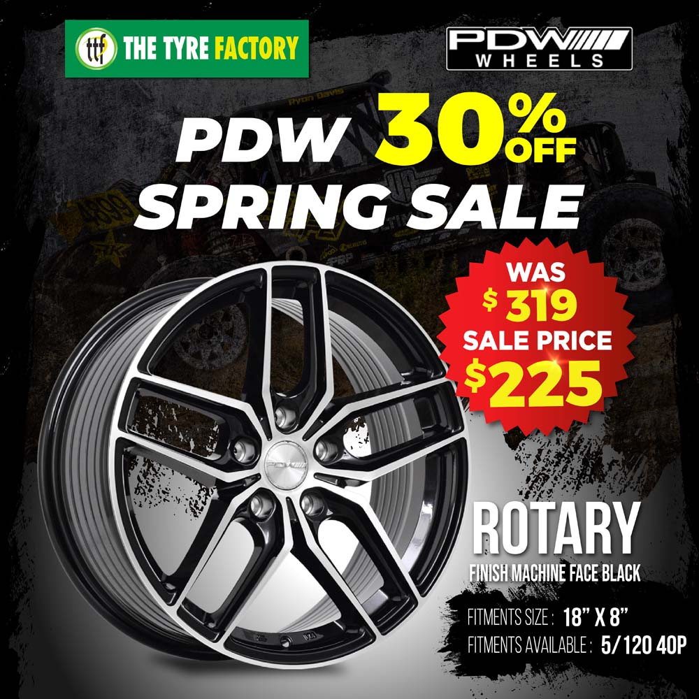 PDW 30% off spring sale