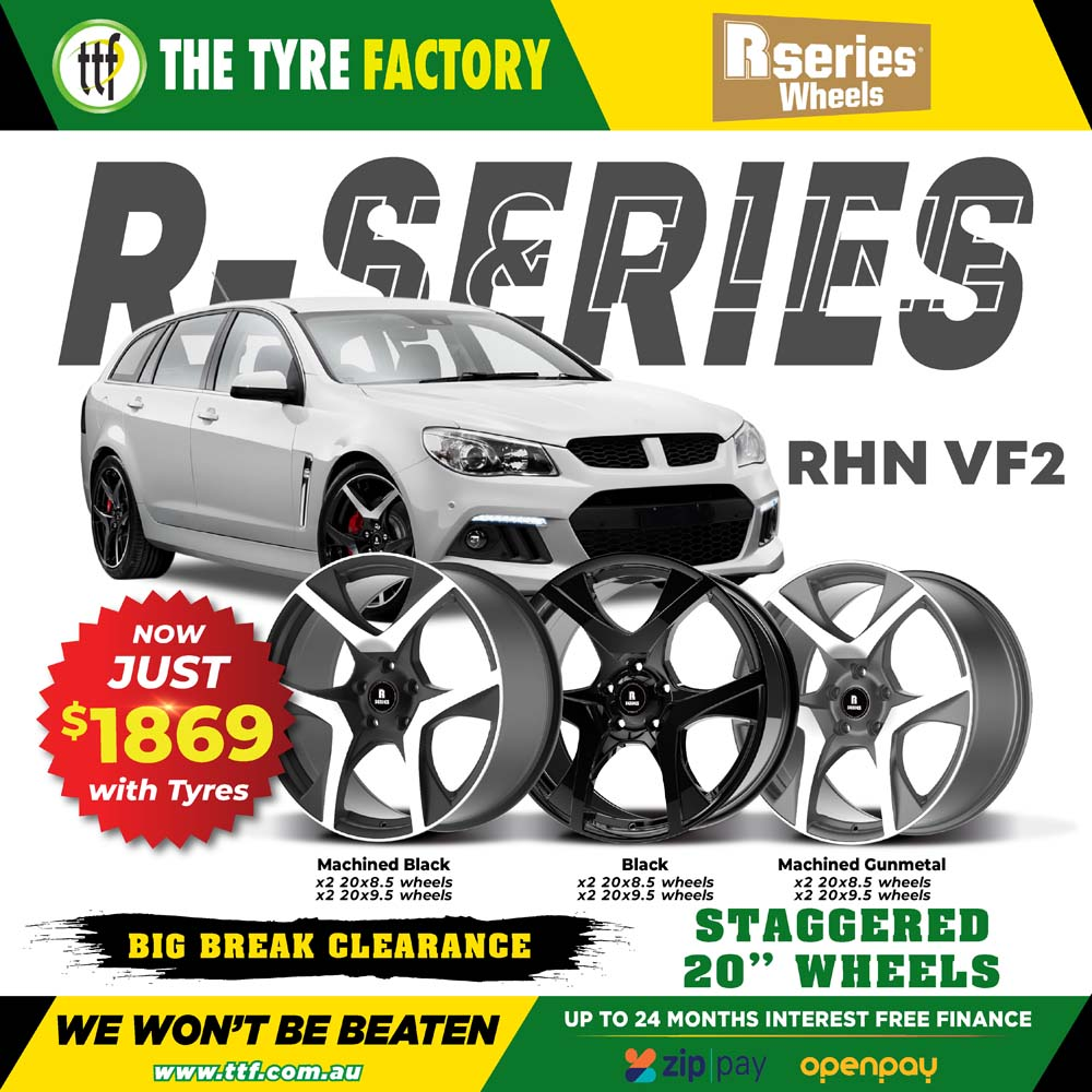 R-series staggered 20