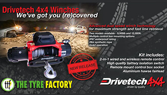 The Drivetech 4x4 Advanced dual speed winch features
