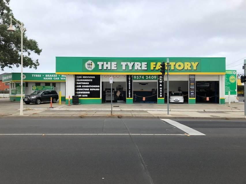 The Tyre Factory Noble Park