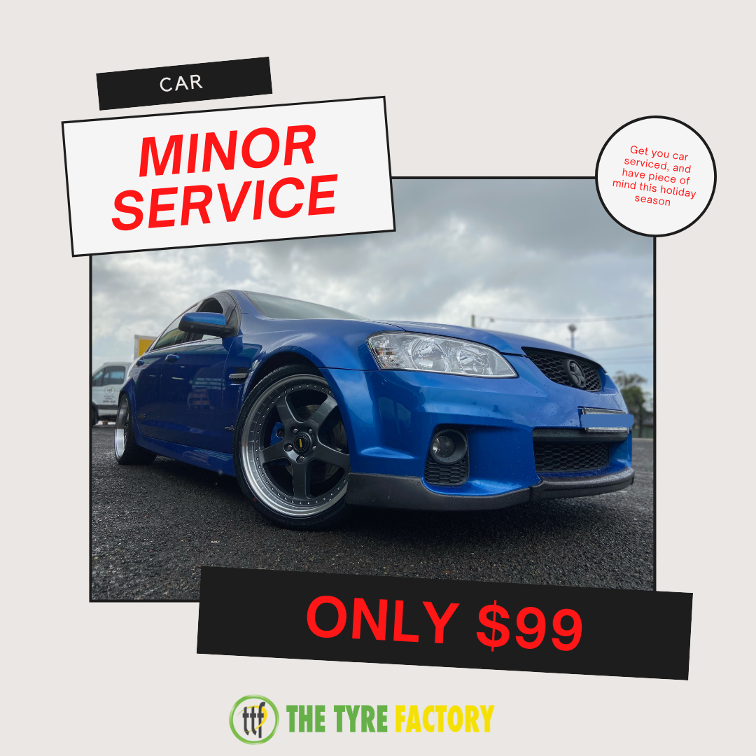 Minor service only for $99